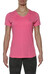 asics fuzeX V-Neck SS Top Women Camelion Rose